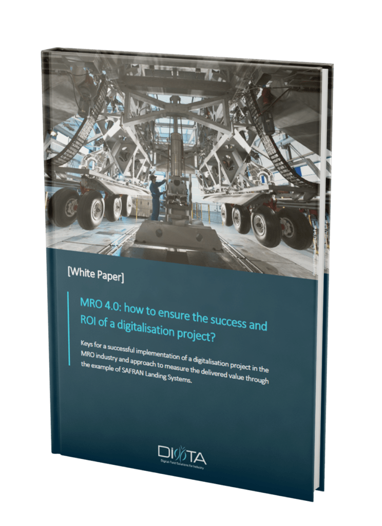 Diota White Paper - how to ensure the success and ROI of a digitalization project?